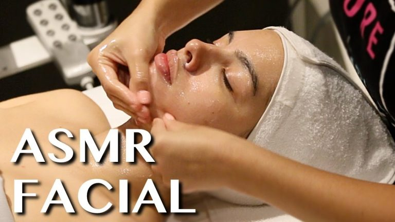 ASMR Facial Treatment | Scalp Massage, Steam, Tapping!